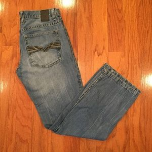 Helix Jeans Men Young  29W 30L Relaxed Straight